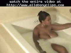 Emage having a milk bath black ebony cumshots ebony swa