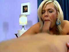 Mature MILF Milks Stud With Her Mouth