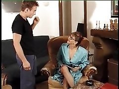 French Anal Mature F70