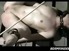 Chained Down Spanked And Waxed