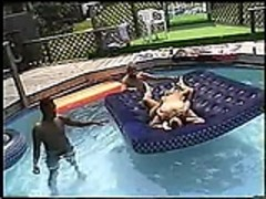 Swingers pool party