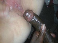 Plump White BBW Good Pussy Fucked & Creampied by Black Dick
