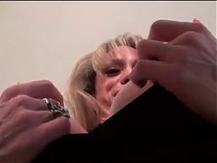 Milf mature Raquel's big clit needs attention huge clit