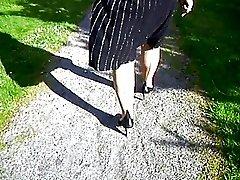Walk in stockings