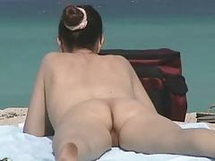 Hairy Milfs at Nude Beach