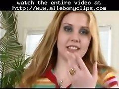 Furry redhead cherry gets dwarf bbc in 3some black ebon