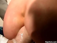 Hardcore pussy and asshole wrecking is just what the do