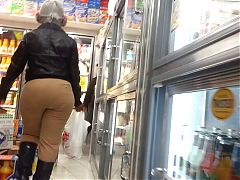 Candid OMG WTF bubbled out mega donk of NYC
