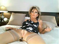 Classy milf on webcam